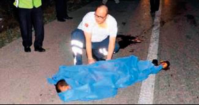 Karı koca peş peşe kazaya kurban gitti