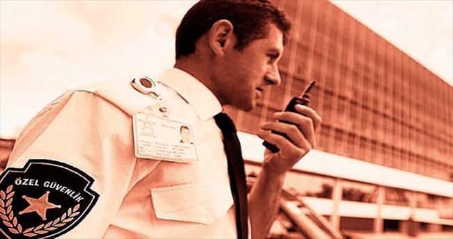 Özel güvenlik sektörü günden güne büyüyor