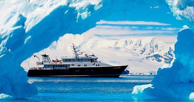 Süperyatlarla buzullarda