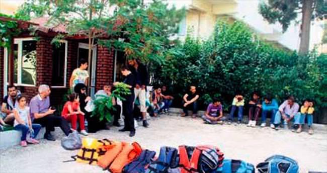 170 kaçak göçmen daha yakalandı