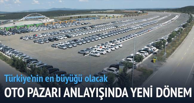 1 milyar liralık oto pazarı açılıyor