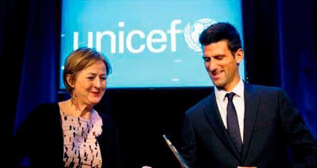 Djokoviç, UNICEF iyi niyet elçisi oldu