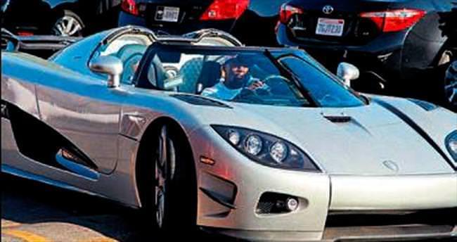 4.8 milyon dolarlık arabayla antrenmana