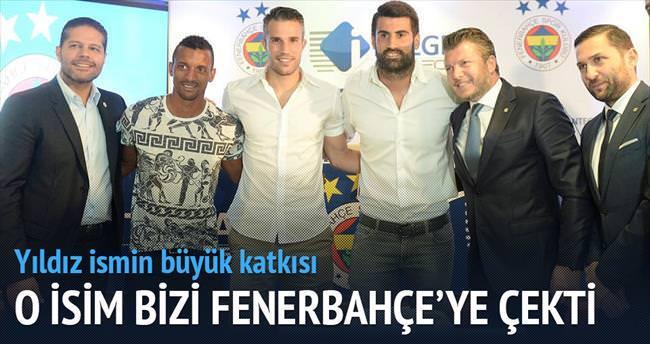 Van Persie bizi Fenerbahçe'ye çekti