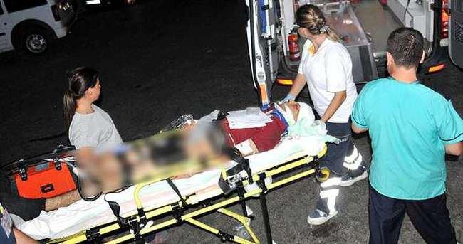 Otomobil çarptığı uzman onbaşı yaralandı