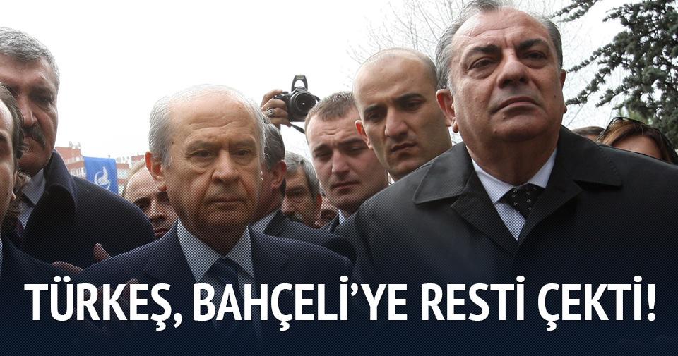Tuğrul Türkeş, Bahçeli'ye resti çekti!