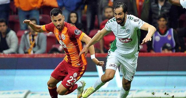 Galatasaray ile Konyaspor 29. kez...