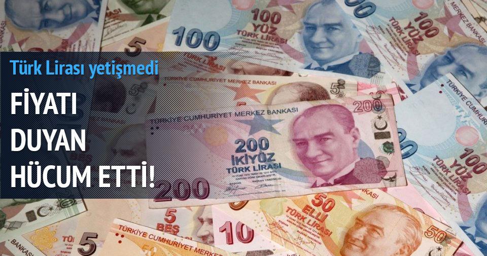 Fiyatı duyan hücum etti, Türk lirası yetişmedi!
