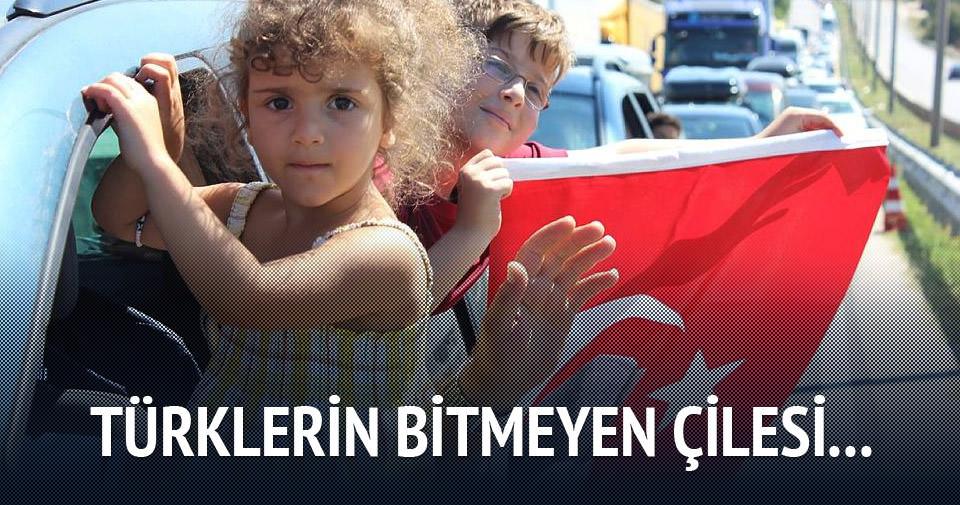 Türklerin bitmeyen dönüş çilesi