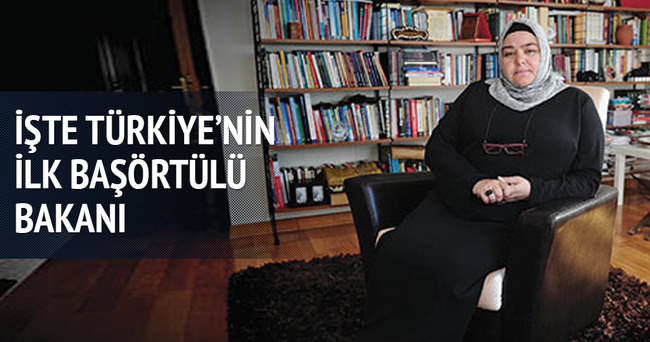 Yeni kabinenin ilk başörtülü bakanı: Ayşen Gürcan