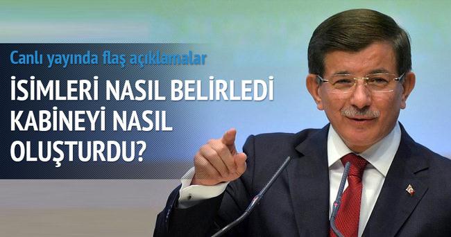 Davutoğlu: Türkiye'nin resmi, tabloya yansısın istedim