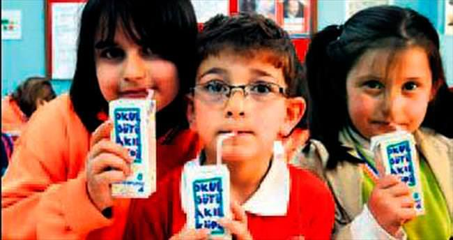 İlkokullara 3 gün süt dağıtılacak