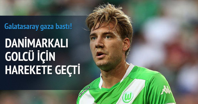 Galatasaray'a Danimarkalı golcü