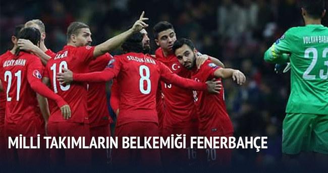 Türk Milli Takımlarına en fazla futbolcu Fenerbahçe'den