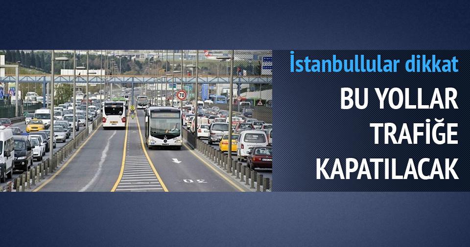 İstanbullular önümüzdeki 2 güne dikkat!