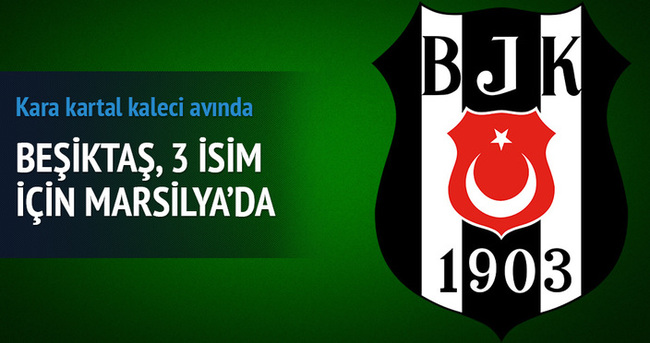 Beşiktaş yine Marsilya'nın kapısını çaldı