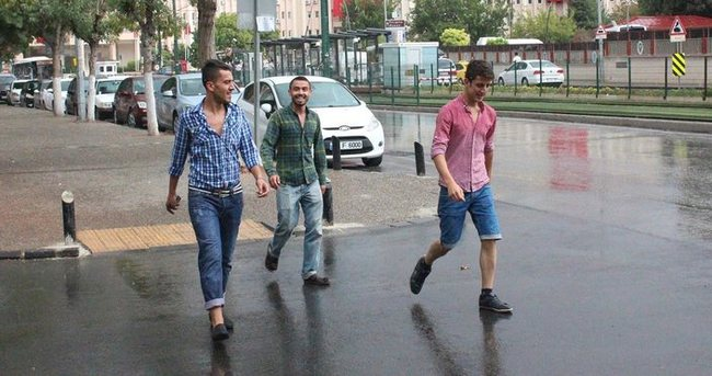 Yağmur Gaziantep'i serinletti