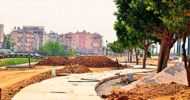 Manavgat Belediyesİ yatırımlarını sürdürüyor