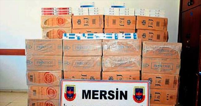 Tarsus'ta kaçakçılar jandarmaya takıldı