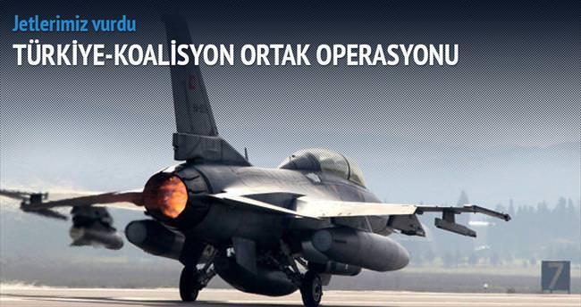 Türk jetleri DAEŞ'i vurdu