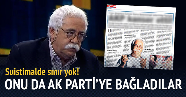 Sözcü Levent Kırca'nın hastalığını AK Parti'ye bağladı