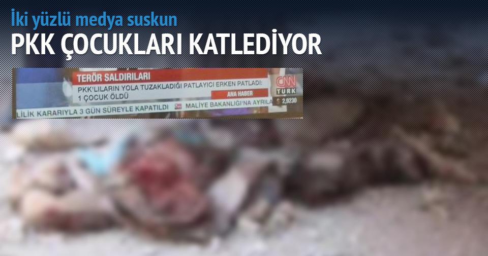 CNN Türk PKK'nın açıklarını kapatma derdinde!