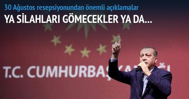 Erdoğan:Bu ülke birkaç çapulcunun at oynatacağı ülke değil