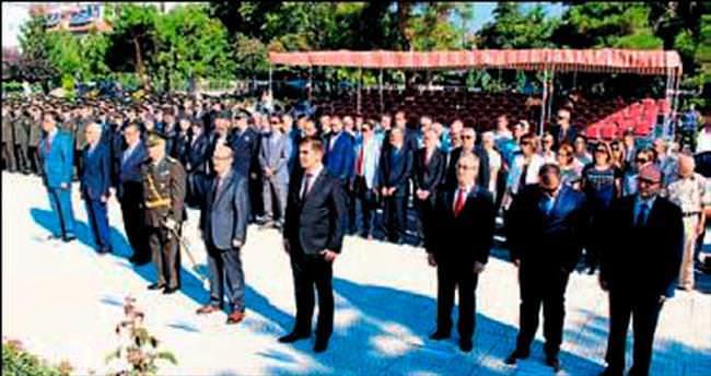 Burdur'da kutlama