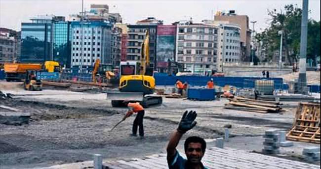 Taksim Meydan Projesi'nde yeşillendirme başlıyor