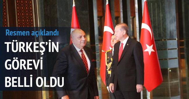 Tuğrul Türkeş'in görevi belli oldu