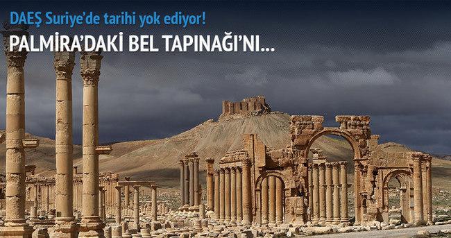 DAEŞ, Suriye'de tarihi yok ediyor!