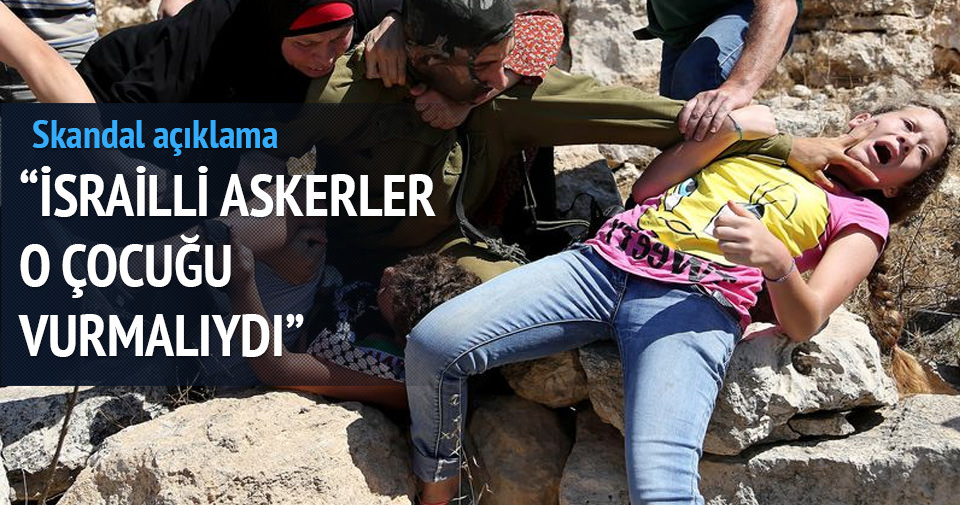 Miri Regev: İsrail askeri o çocuğu vurmalıydı