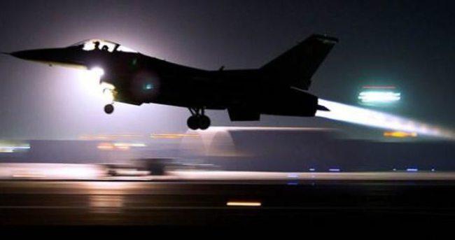Türkiye'den kalkan uçaklar orayı vuruyor!