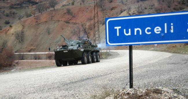 Tunceli'de dev operasyon