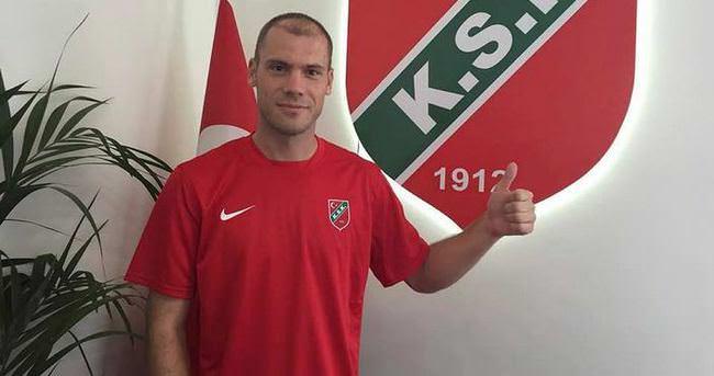 Karşıyaka Djuric'le sözleşme imzaladı