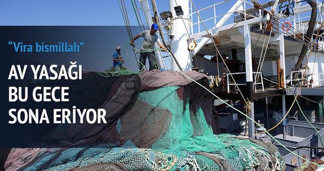 Balıkçılar bu gece vira bismillah diyecek