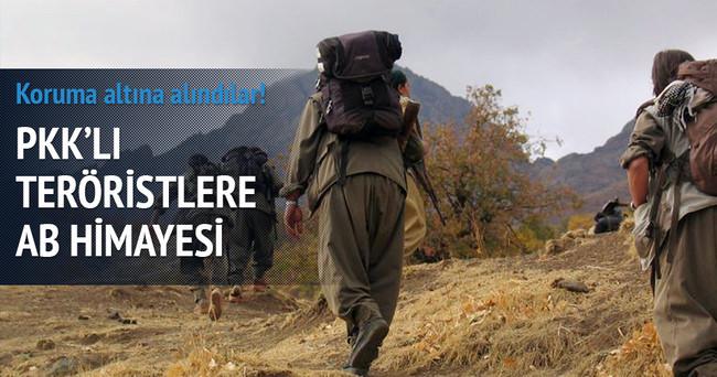 PKK'lı teröristlere AB himayesi