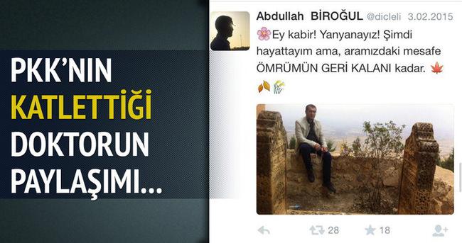 Yol kesen PKK'lılar 1 kişiyi öldürdü