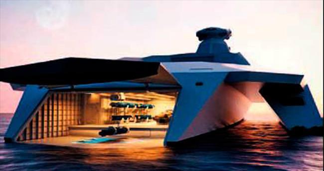 İşte 2050 yılının savaş gemileri...