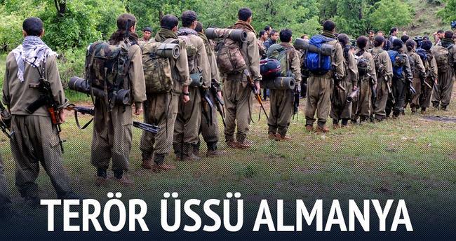 13 bin PKK'lı Almanya'da