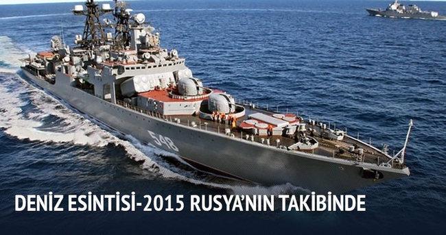 Rusya ABD gemilerini takipte