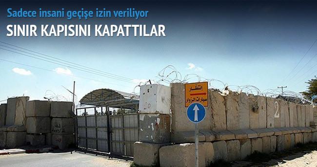 İsrail Beyt Hanun sınır kapısını kapattı