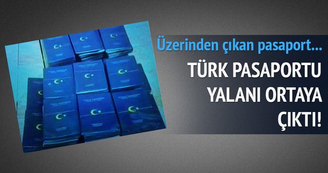 Türk pasaportu iftirası çürüdü