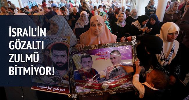 İsrail'in Filistinlilere yönelik gözaltıları bitmiyor