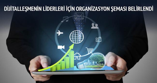Dijitalleşmenin liderleri için organizasyon şeması belirlendi