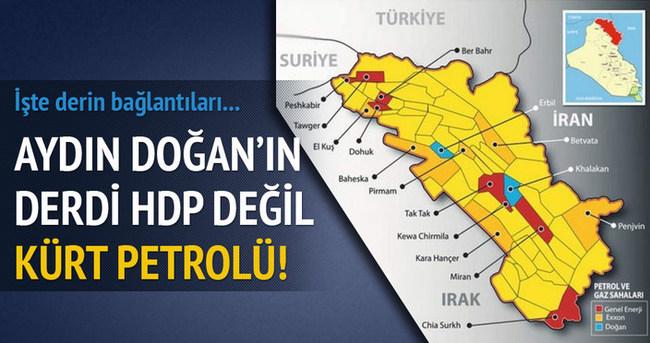 Aydın Doğan'ın Kürt petrolü aşkı!