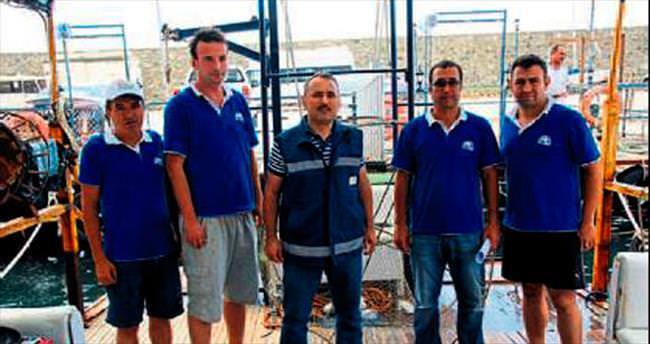 Su ürünleri kontrollerinde 22 kişiye 25 bin lira ceza