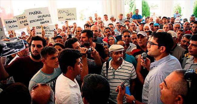Muratpaşa'da Ermenek isyanı