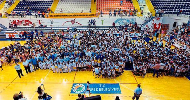 Kepez'in sporcu ordusu