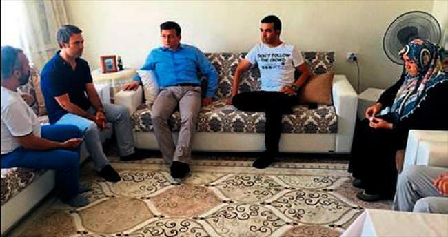 Acılı aileye Hamza Dağ'dan destek sözü